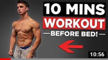 10 MIN BODYWEIGHT WORKOUT (NO EQUIPMENT HOME WORKOUT!)