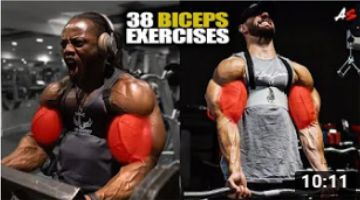 38 BICEPS EXERCISES | GYM MOTIVATION