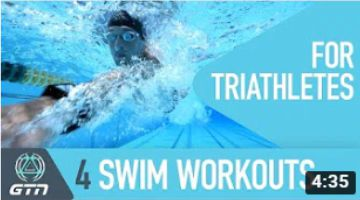 4 Swim Workouts For Triathletes – Intermediate Level