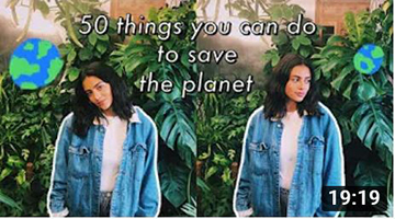 50 things you can do to save the planet // easy eco-friendly tips!