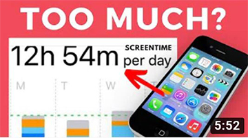 7 Tips To REDUCE Screen Time