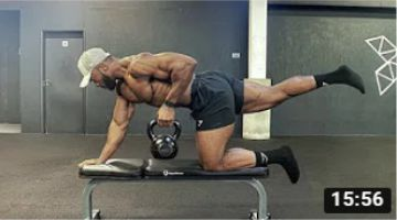 FULL BODY FUNCTIONAL TRAINING | Improve your Core, Lower back, Shoulder strength and stability.