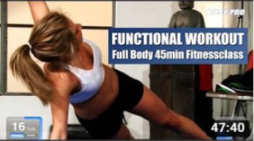 Functional Workout 45min Full Body Fitnessclass