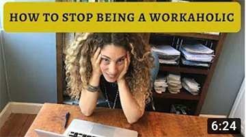 How To Recover From Being a Workaholic