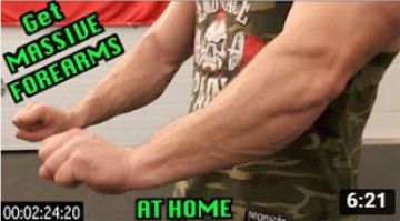Intense 5 Minute At Home Forearm Workout