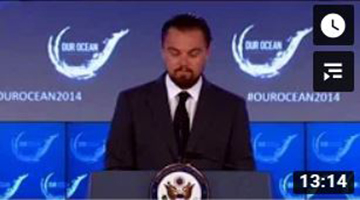 Leonardo DiCaprio Delivers Remarks at 2014 Our Ocean Conference