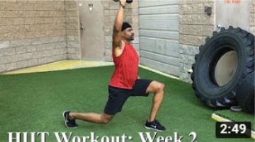 Mayo Clinic HIIT Workout for Mind & Body – Week 2