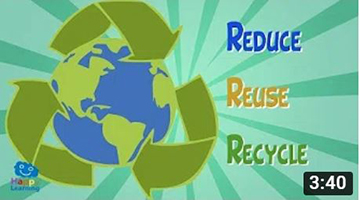 Reduce, Reuse and Recycle, to enjoy a better life | Educational Video for Kids