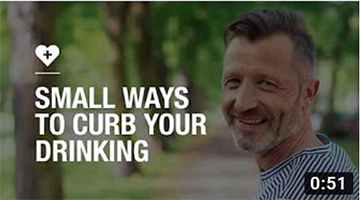 Small ways to curb your drinking