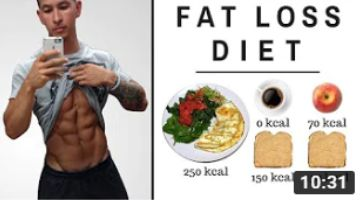 The Best Science-Based Diet for Fat Loss (ALL MEALS SHOWN!)