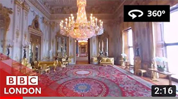 360° Video: Buckingham Palace Tour – BBC London