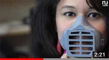 3D printer in N.J. making respirator masks to help protect from coronavirus