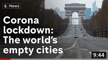 Before and after coronavirus – scenes from the world's biggest cities
