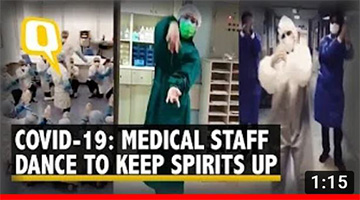 Coronavirus: Medical Personnel Dance to Cheer Patients | The Quint