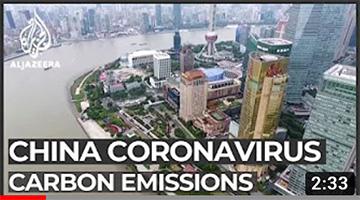 Coronavirus outbreak slashes China's greenhouse gas emissions