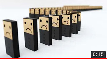 Domino effect: social distancing and the virus spread
