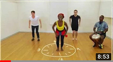Five(ish) Minute Dance Lesson – African Dance: Lesson 3: Dancing on the Clock