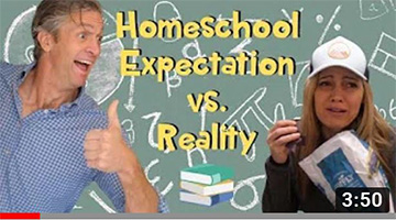 Homeschool Expectation vs. Reality