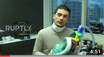 Italian startup turns snorkelling masks into ventilators for coronavirus patients