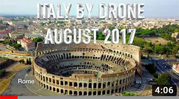 Italy by Drone in 4K – Rome, Venice, Florence, Pisa, Milan, etc.