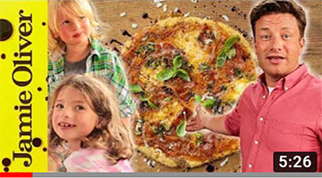 Quick Family Pizza | Jamie, Petal & Buddy Oliver