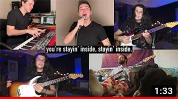 """Stayin' Inside"" – Corona Virus Bee Gees Parody"