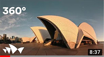 Tour the Sydney Opera House in 360° | Featuring soprano Nicole Car and the Sydney S