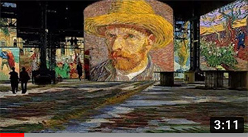 Vincent van Gogh art ALIVE – Atelier des Lumières (Paris, France) STARRY NIGHT