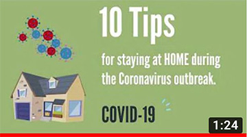 What to do when staying at home during the Coronavirus outbreak