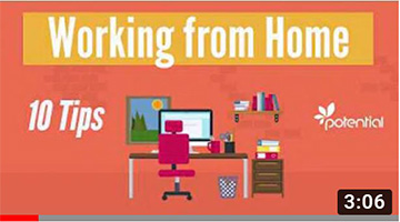 Working from home during Coronavirus – 10 Tips