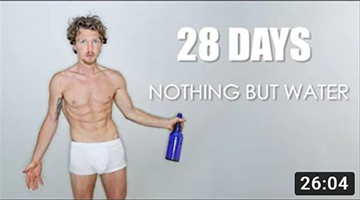 28 DAY WATER FAST || Results / Weight Loss / Experience