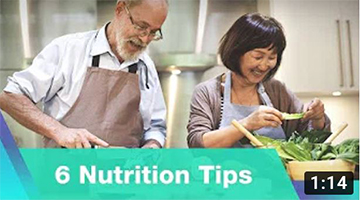 6 Nutrition Tips for Healthy Aging