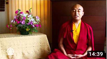 A Guided Meditation on the Body, Space, and Awareness with Yongey Mingyur Ri