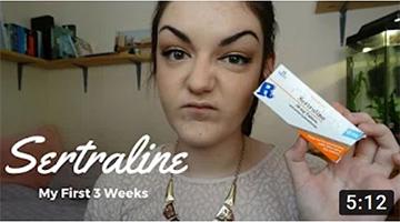 Antidepressants: My First 3 Weeks (Sertraline/Zoloft)