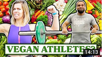 Athletes Try Working Out On A Vegan Diet For 30 Days