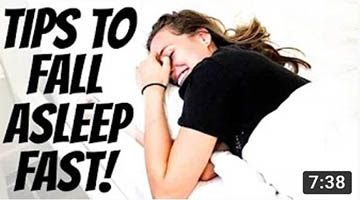 BEAT INSOMNIA – HOW TO FALL ASLEEP FAST – GET BEAUTY SLEEP