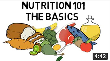 Basic Nutrition and Macro – Nutrients Video Animation by Train With Kane