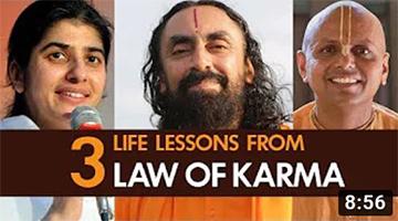 Bhagavad Gita Law of Karma explained! 3 Life Lessons from Law of Karma