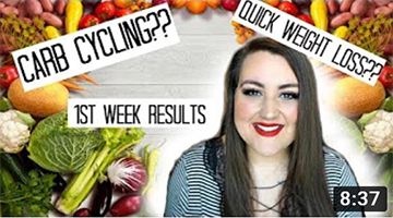 CARB CYCLING??? | 1 Week Results