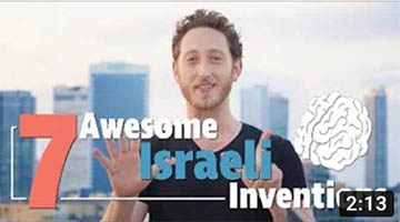 Changing the World – 7 Israeli Inventions