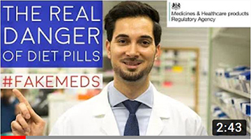 Diet Pills UK Side Effects | Danger Of Slimming Pills |Weight Loss Pills Side Effects #FakeMeds MHRA