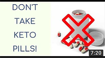 Don't take keto pills! | There is no magic pill for keto | Eat less carbs