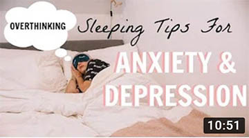 HOW TO SLEEP WHEN YOU'RE ANXIOUS/ DEPRESSED