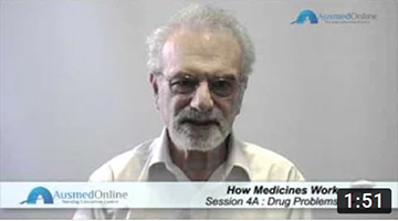 How Medicines Work: Drug Problems 1: Errors, Side Effects Adverse Reactions