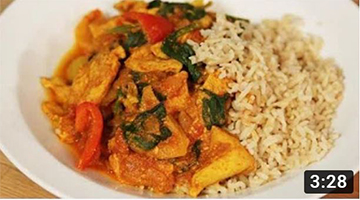 How To Make A Low Fat Chicken Curry: The Lighter Option