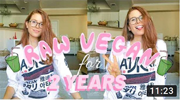 I WENT RAW VEGAN FOR 2 YEARS | My Results [weight loss, detox + healing
