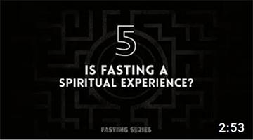 Is fasting a spiritual experience? | Michael Dow | Daniel Kolenda