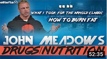 John Meadows Speaks on Drugs & Nutrition for Bodybuilding | elitefts.com