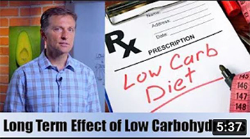 Long Term Effects of a Low Carbohydrate Diet