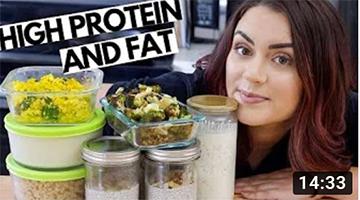 Low Carb Vegan Meal Prep!